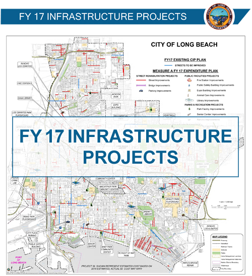 Infrastructure Projects Map