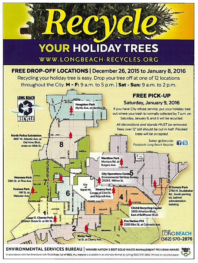 Recycle Holiday Trees