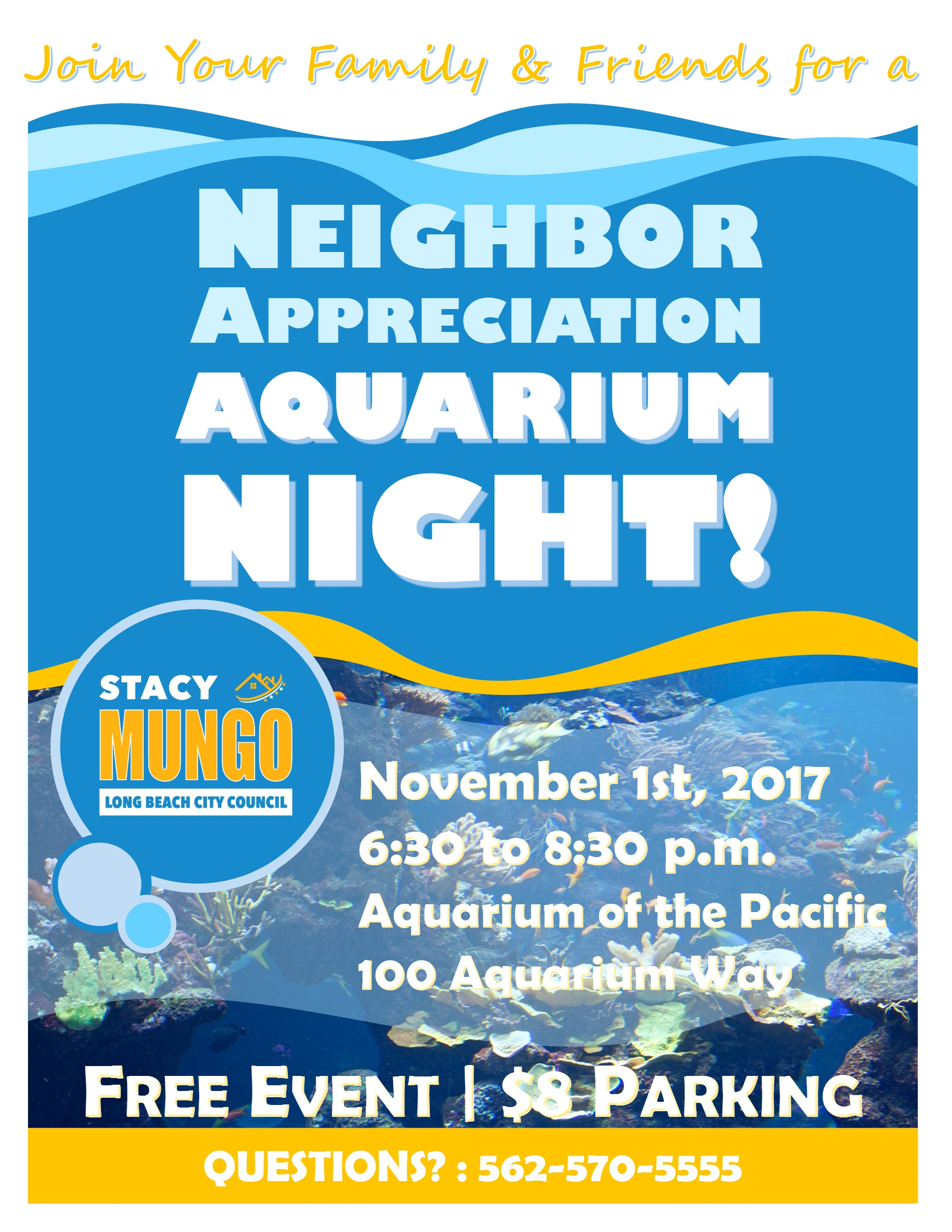 Aquarium Night 11.1.17