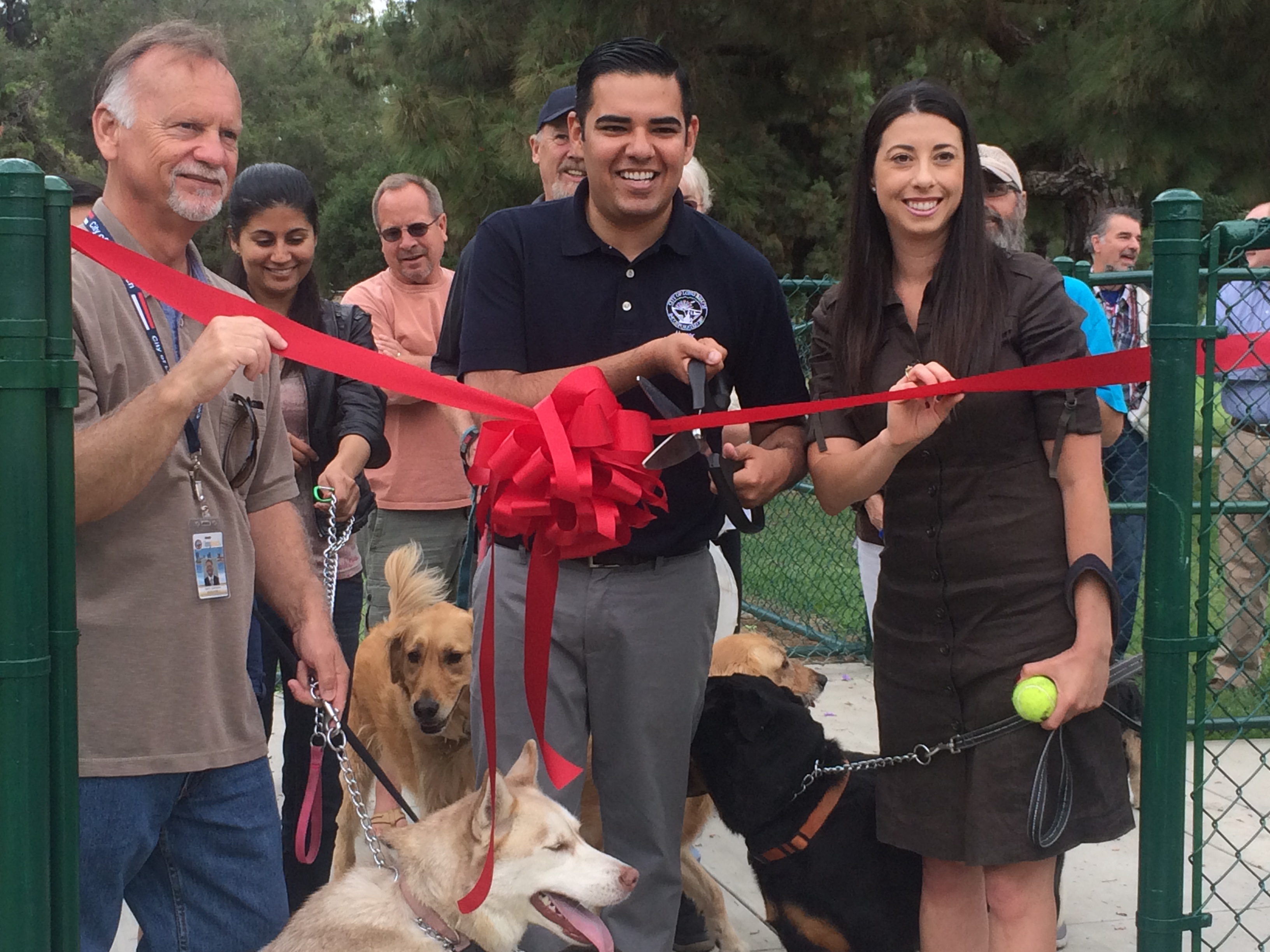 El Dorado Dog Park Expansion Ribbon Cutting