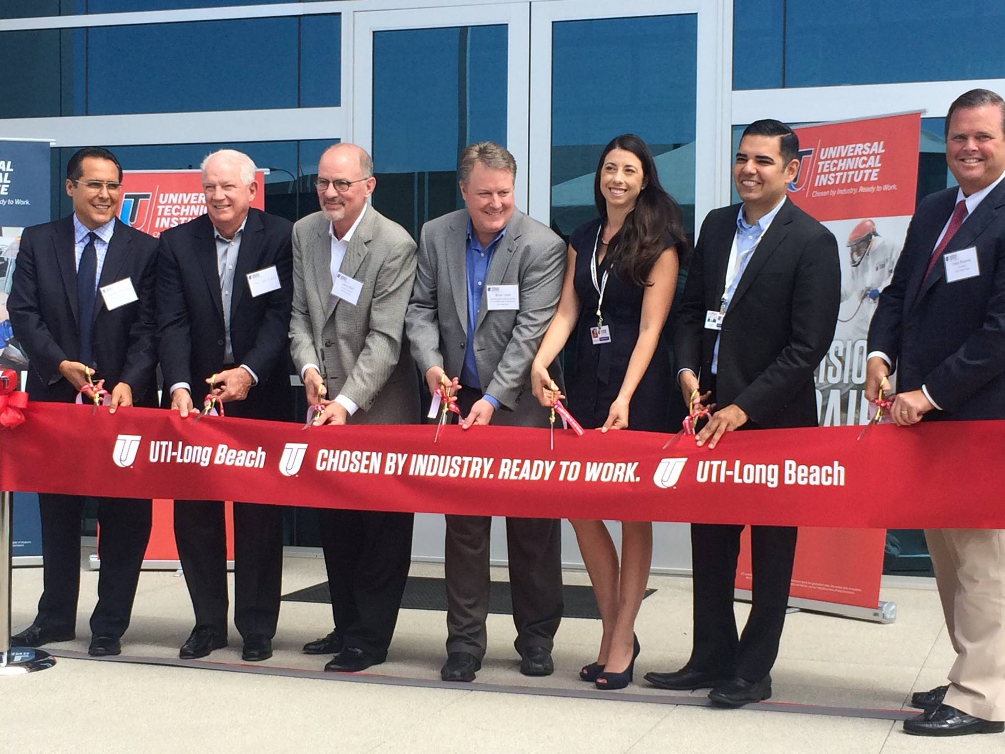 UTI Ribbon Cutting