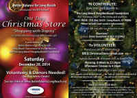 Christmas Store Flyer, No Link Attached
