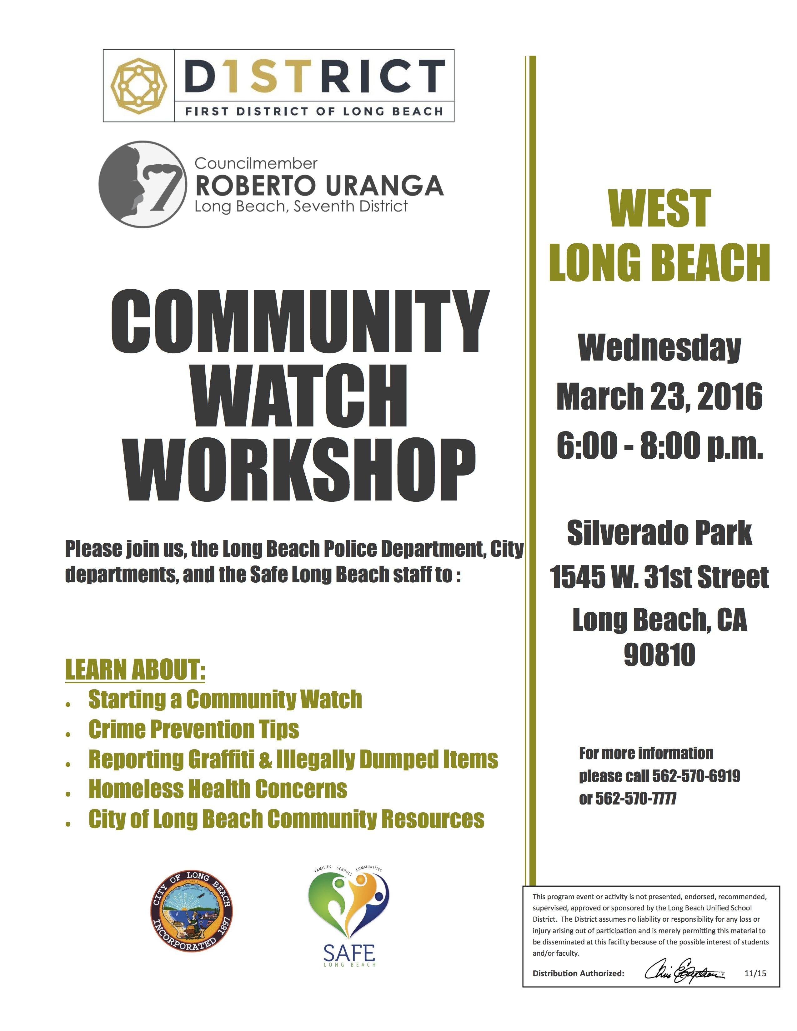 District 7 community watch workshop west long beach eng aiddatafo Images