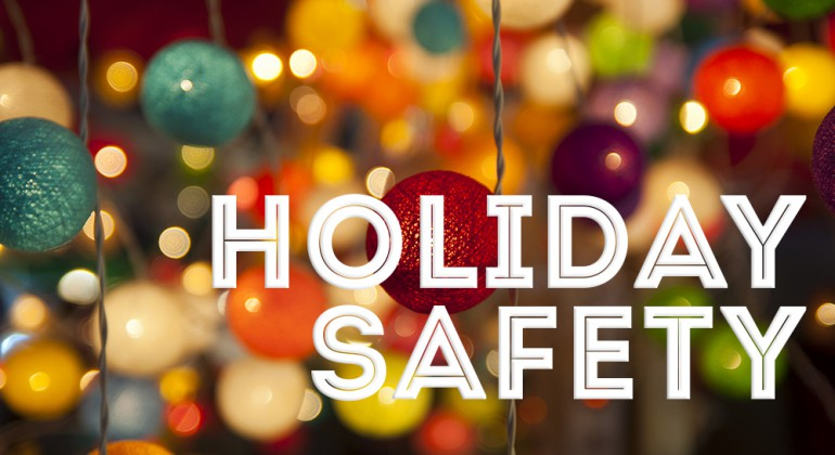 Holiday Safety Stock Image