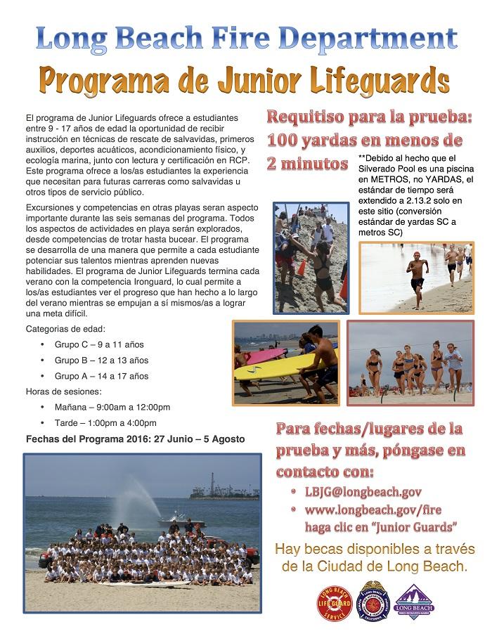 02d4ad024ca LB Junior Lifeguard Program Tryouts Flier 2016 SPA