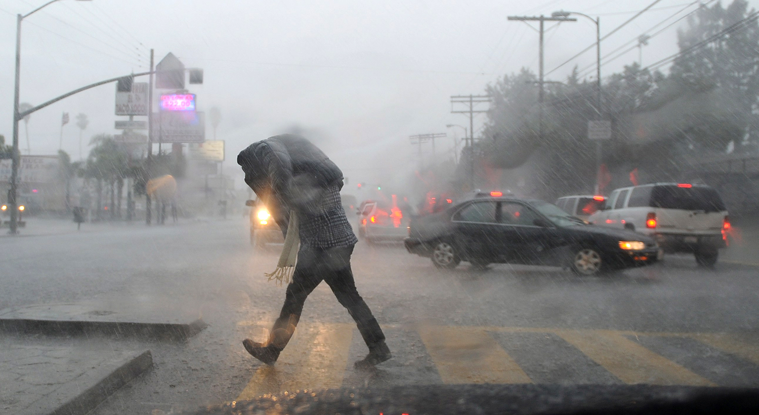 District 7 long beach heavy storm stock image aiddatafo Images
