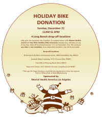 Holiday Bike Drive Flyer, No Link Attached