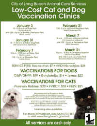 Clinic Date & Location Flyer, No Link Attached