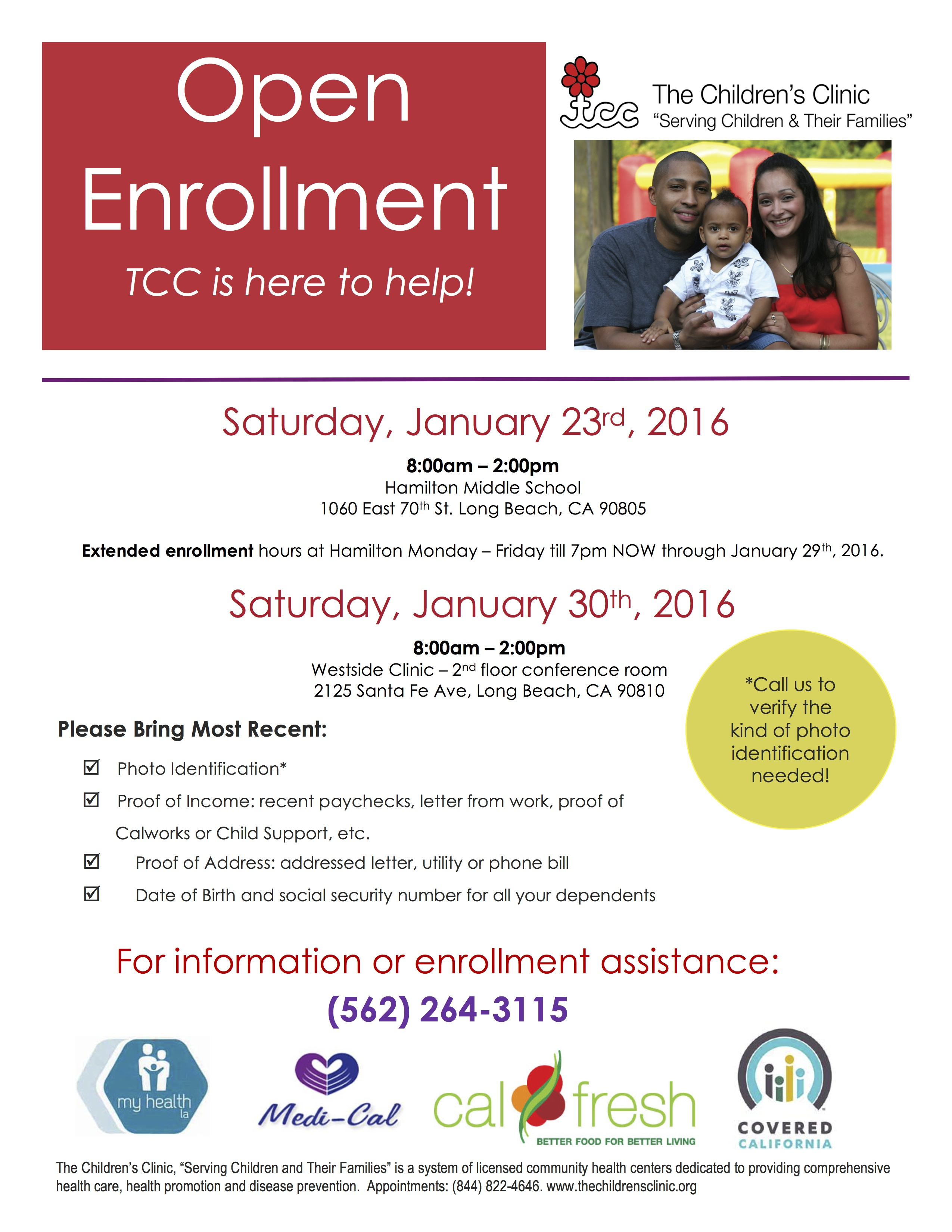 The childrens clinic open enrollment 2016 eng the childrens clinic open enrollment 2016 aiddatafo Images