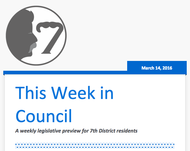 This Week in Council 2016.03.14