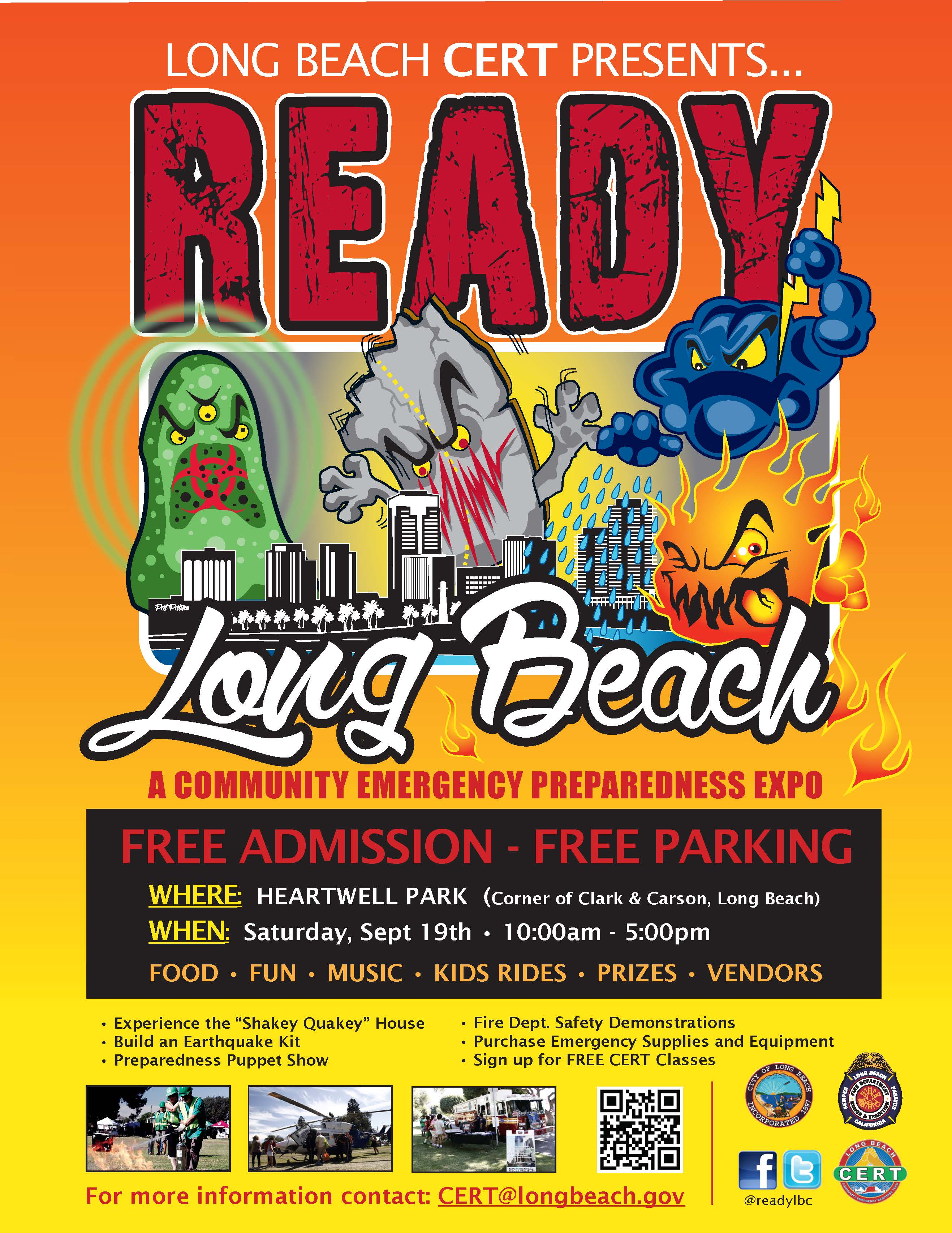 Ready Long Beach 2015 Flyer