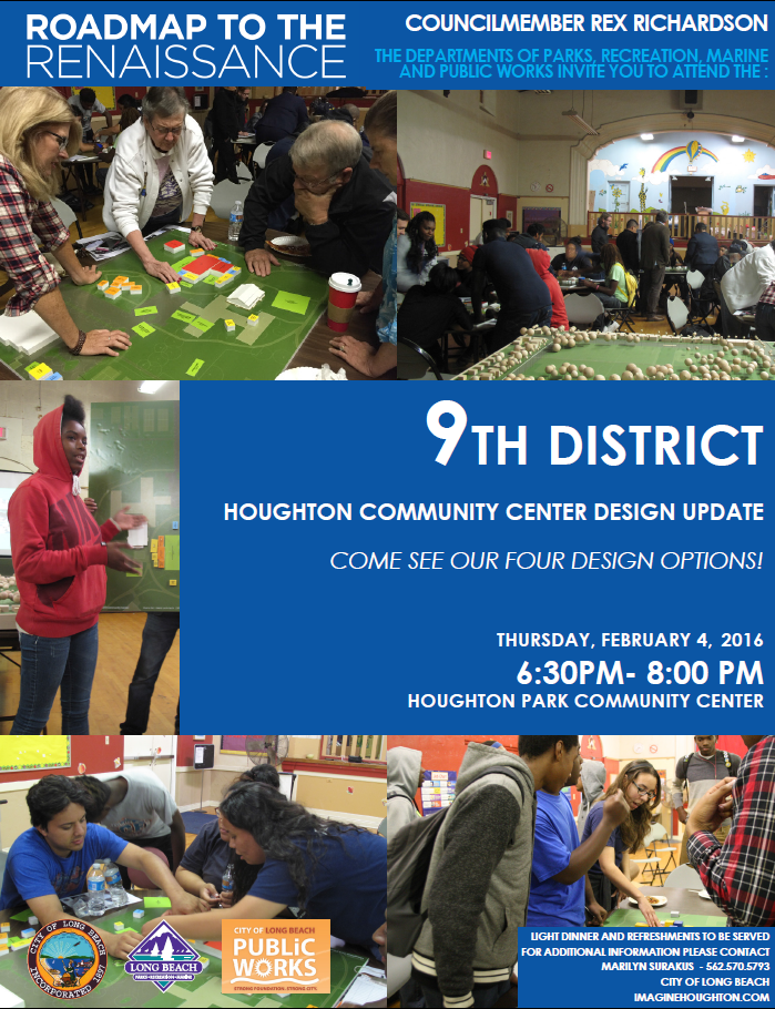 9th District Houghton Community Center Design Update