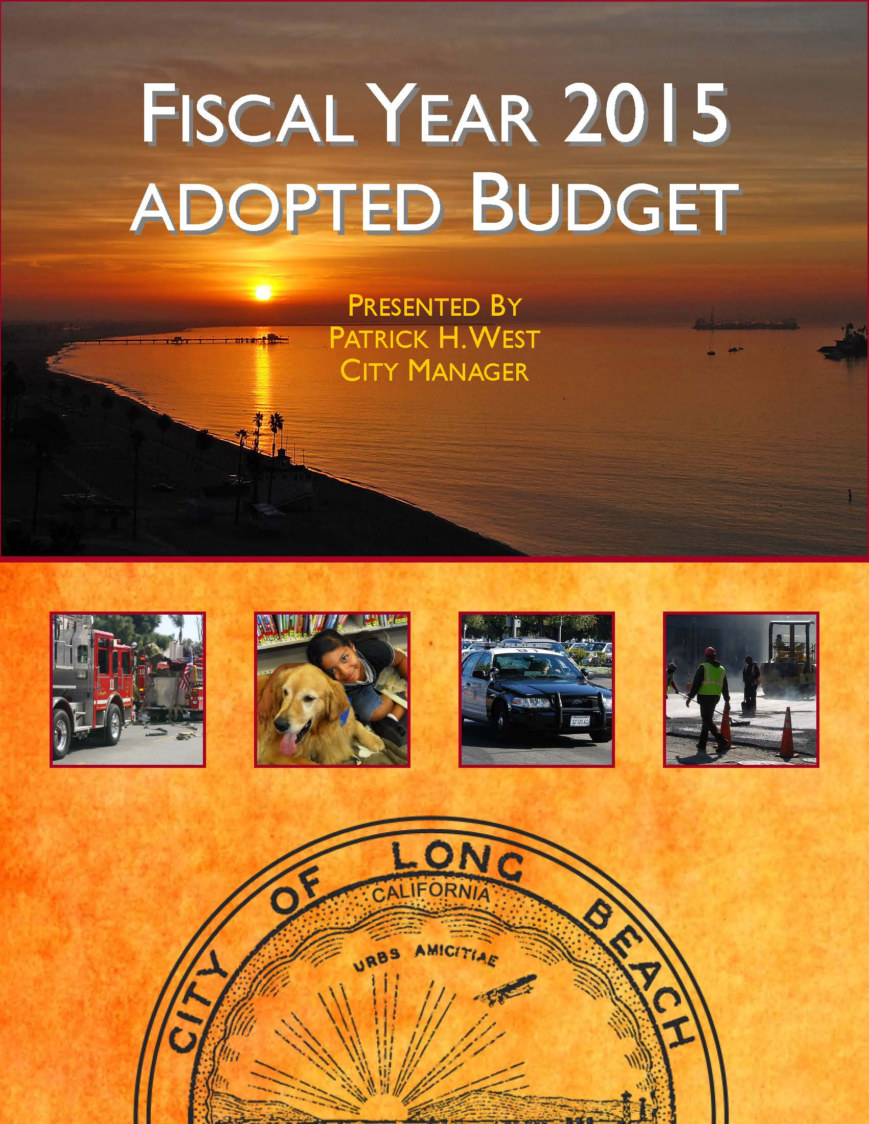 FY 15 Adopted Book Cover
