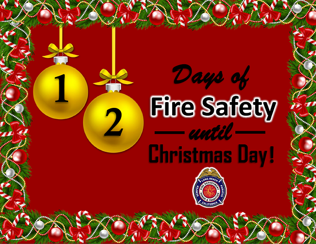 12 Days of Fire Safety - Library