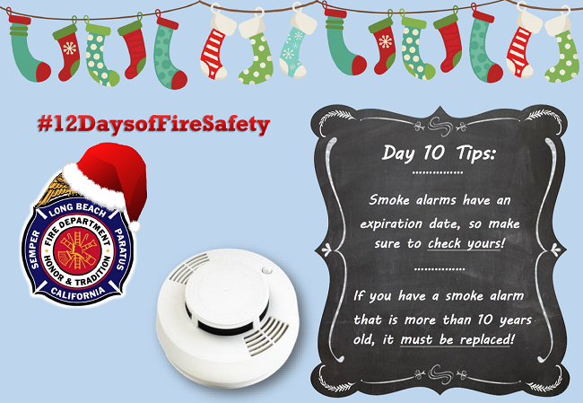 12 Days of Fire Safety - Day 10