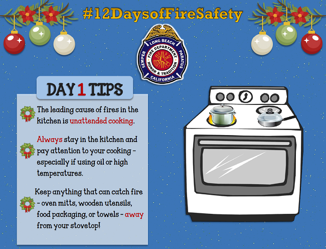 12 Days of Fire Safety - Day 1
