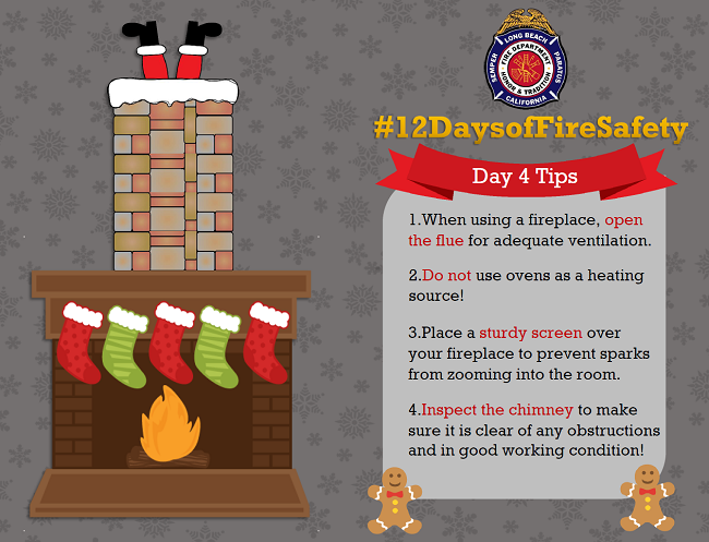 12 Days of Fire Safety - Day 4
