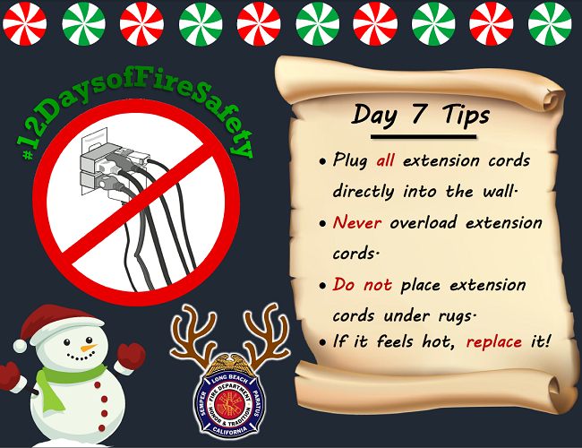 12 Days of Fire Safety - Day 7