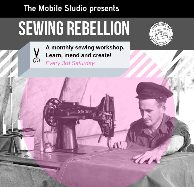Sewing Rebellion (3) - Main Library Studio