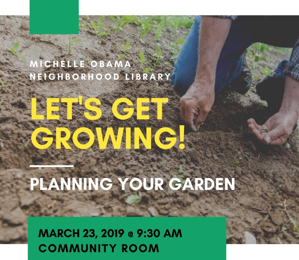 Let's Get Growing! Planning Your Garden