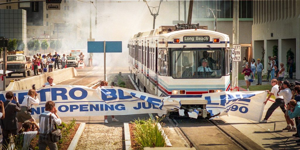 Original Blue Line Train Officially City Of Long Beach Property With Hopes To Turn It Into A New Kind Public E