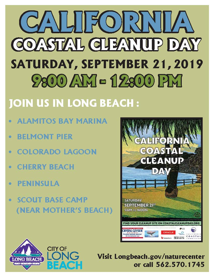 Coastal Cleanup Day 2019 flyer