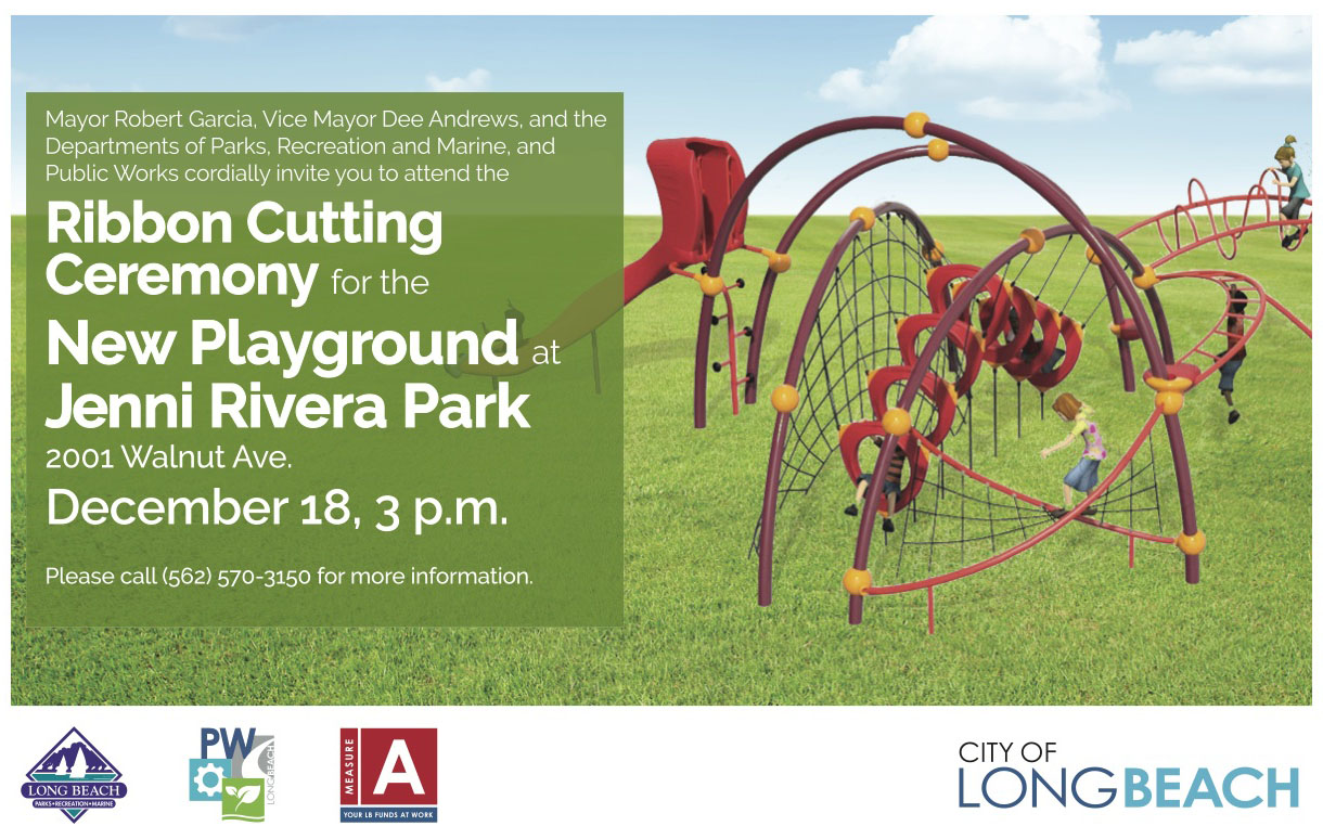 Jenni Rivera Playground Invite