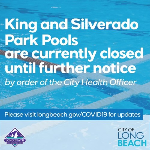 King and Silverado Pools Closed Until Further Notice