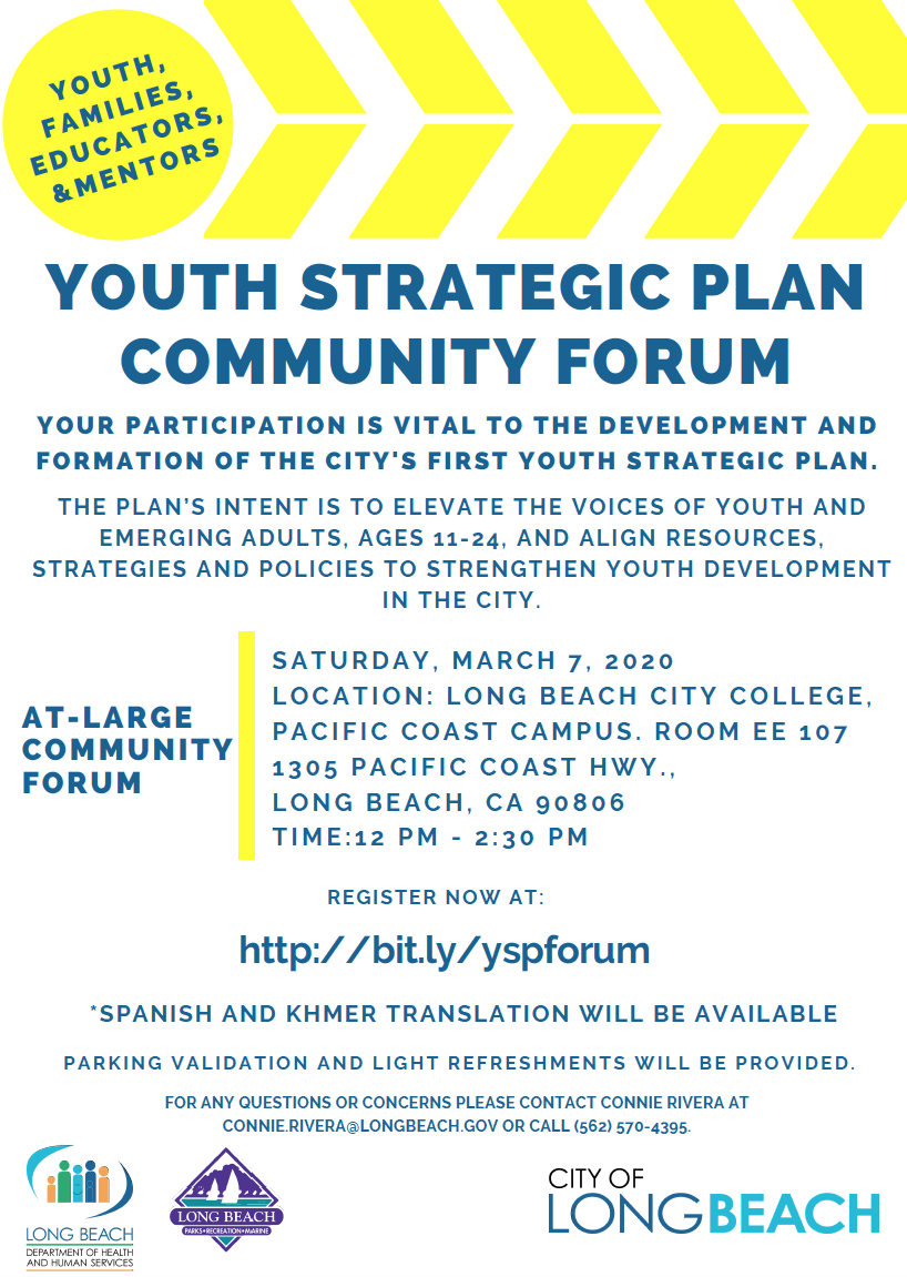 YSP Forum Flyer March 2020