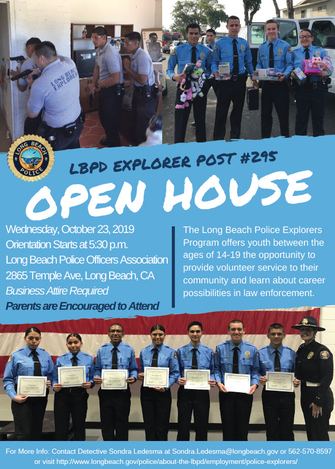 Explorer Open House 2019