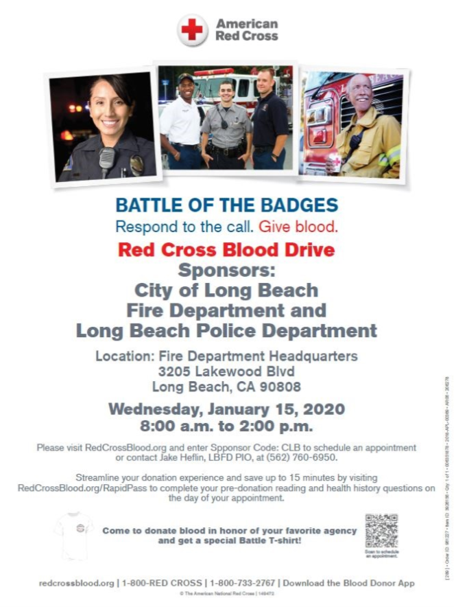 Red Cross Blood Drive 2020