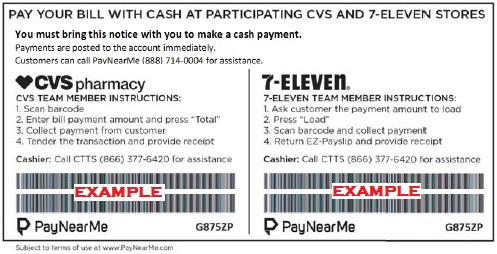 Payment Locations